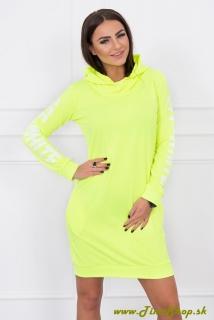 c7e4dff02e Športové šaty s dlhým rukávom - Neon žlta empty